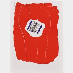 Robert Motherwell (American, 1915-1991)      Tricolor