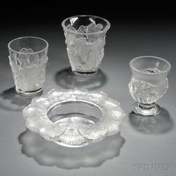 Four Lalique Vessels
