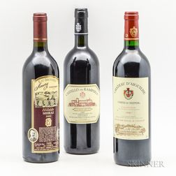 Mixed Worldwide Reds, 3 bottles