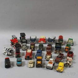 Group of Miniature Toy Cars