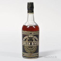 Green River Bourbon, 1 quart bottle