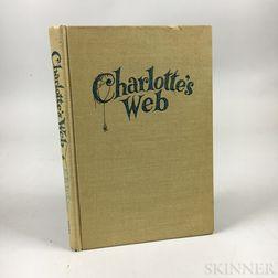 White, E.B. (1899-1985) Charlotte's Web  , Signed Copy.