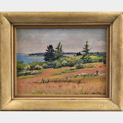 Henry Howard Brooks (American, 1898-1981)      Cranberry Island, ME.