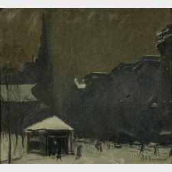 Arthur Clifton Goodwin (American, 1866-1929)      Park Street Church
