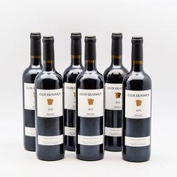 Clos Erasmus 2013, 6 bottles