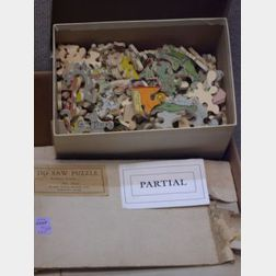 Collection of Twenty Blade, Ply & Watts Ltd. Jigsaw Puzzles