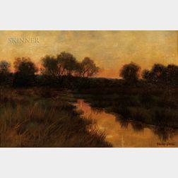 Bruce Crane (American, 1857-1937)      Long Island, NY