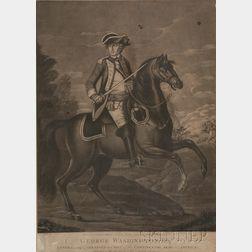 Two Portrait Prints of George Washington
