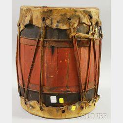 Southwest Pueblo Drum
