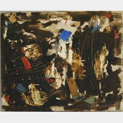 Attributed to Felix Pasilis (American, b. 1922)      Technology   [Abstract].