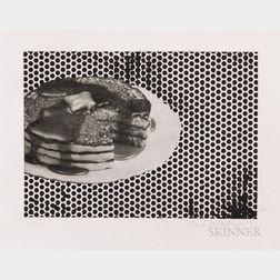 Carl Ostendarp (American, b. 1961)      Pancake Print