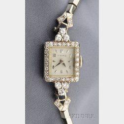 Lady's Diamond Wristwatch, Raymond Yard
