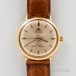 "LeCoultre 14kt Gold ""Master Mariner"" Wristwatch"