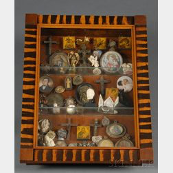 Collector's Curio Case with Contents