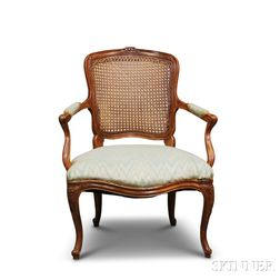 Louis XV-style Fauteuil