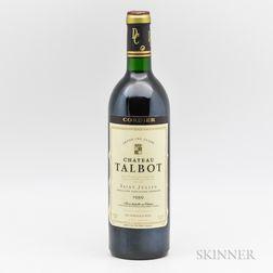 Chateau Talbot 1989, 1 bottle