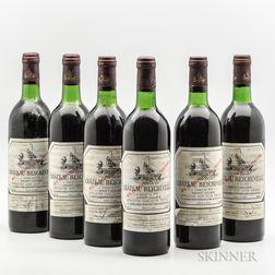 Chateau Beychevelle 1978, 6 bottles