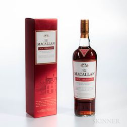 Macallan Cask Strength, 1 750ml bottle