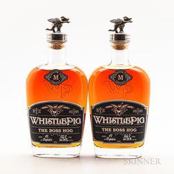 Whistle Pig Boss Hog M, 2 750ml bottles