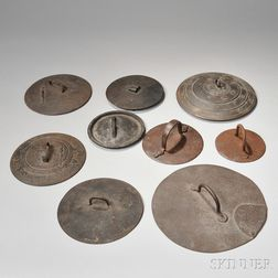 Nine Iron Pot Covers