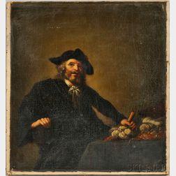 After Hendrick Gerritsz Pot (Dutch, 1585-1657)      The Miser