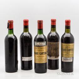 Chateau Brane Cantenac, 5 bottles