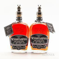 Whistle Pig Boss Hog IV, 2 750ml bottles