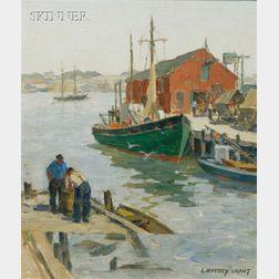 James Jeffrey Grant (American, 1883-1960)      Harbor View