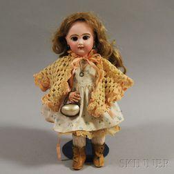 Bébé Jumeau Bisque Head Girl Doll