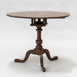 Queen Anne Cherry Birdcage Tilt-top Tea Table