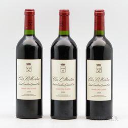 Chateau Clos St. Martin 2005, 3 bottles
