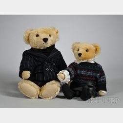 Two Steiff for Ralph Lauren Teddy Bears