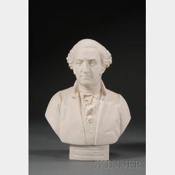Goss Parian Bust of George Washington