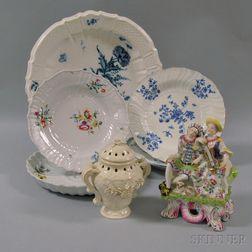 Seven Assorted European Ceramic Items