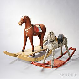 Two Rocking Hobby Horses