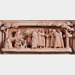 Doulton Lambeth George Tinworth Decorated Terra-cotta Plaque