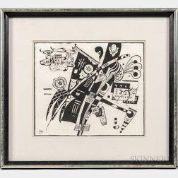 Wassily Kandinsky (Russian, 1866-1944)      Zu Anhang