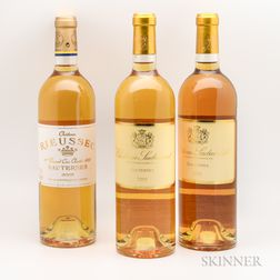 Mixed Sweet Bordeaux Wine, 3 bottles