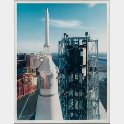 Apollo 14 Rollout, Three Photographs.