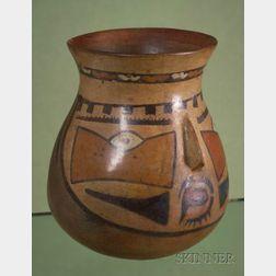 Pre-Columbian Figural Beaker