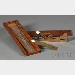 Brass Gunner's Meter by F.J. Leigh