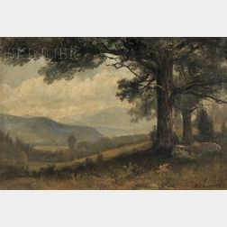 Benjamin Champney (American, 1817-1907)      View to the Valley