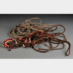 Two Braided Horsehair Items