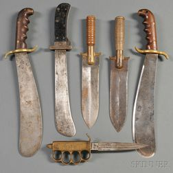 Group of American Military Knives