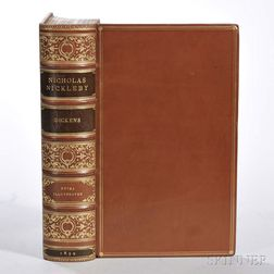 Dickens, Charles (1812-1870) The Life and Adventures of Nicholas Nickleby  , First Edition in Book Form, Extra-illustrated.