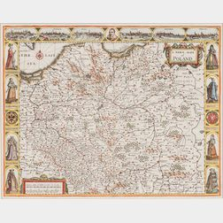 Poland. John Speed (1552-1629) A Newe Mape of Poland.