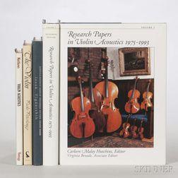 Five Books on Violin Acoustics