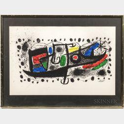 After Joan Miró (Spanish, 1893-1983)      Star Scene