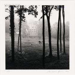 Michael Kenna (British, b. 1953)      Le Désert de Retz, Study 37, France