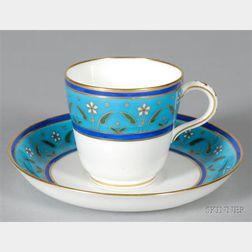 Christopher Dresser Designed Minton Bone China Cup and Saucer